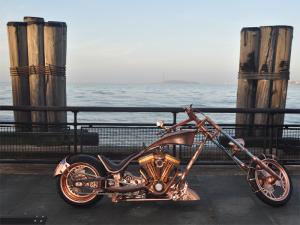 Statue of Liberty Bike Copper